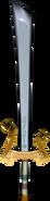 The Wind Waker Enemy Weapons Ganondorf's Sword (Render)