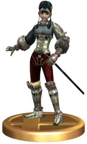 File:Super Smash Bros Brawl Trophies Ashei (Trophy Render).png