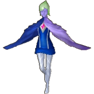 Hyrule Warriors Legends Fi Standard Outfit (Wind Waker - Tetra Recolor)