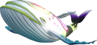 Hyrule Warriors Deities Wind Fish (Render)