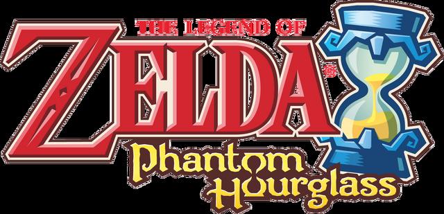 File:The Legend of Zelda - Phantom Hourglass (logo).png