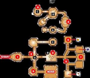 Inside Jabu-Jabu's Belly Map