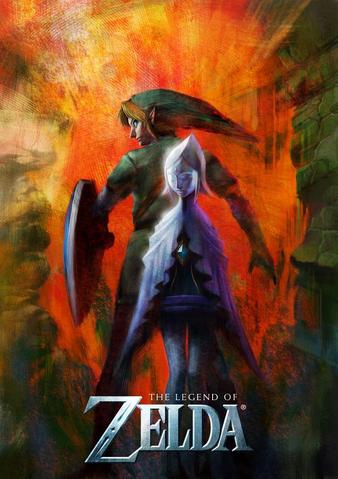 File:The Legend of Zelda - Skyward Sword Artwork.png