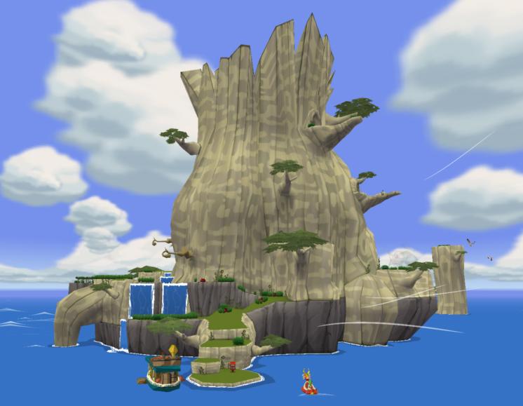 Zelda Twilight Princess Ganondorf Île aux Forê...
