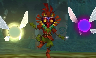 File:Hyrule Warriors Legends Linkle's Tale - The Girl in the Green Tunic Skull Kid, Tatl, & Tael (Battle Intro).png