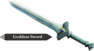 Hyrule Warriors Goddess Blade Goddess Sword (Render)