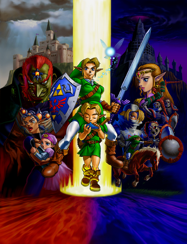 File:Characters (Ocarina of Time).png