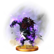 Super Smash Bros. for Wii U Final Smash Trophy Beast Ganon (Trophy)