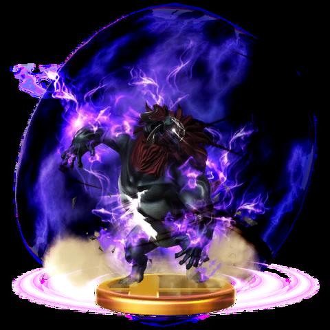 File:Super Smash Bros. for Wii U Final Smash Trophy Beast Ganon (Trophy).png