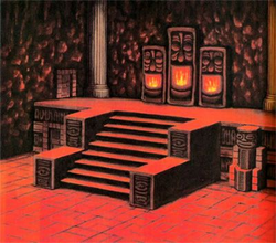 Fire Temple Artwork (Ocarina of Time)