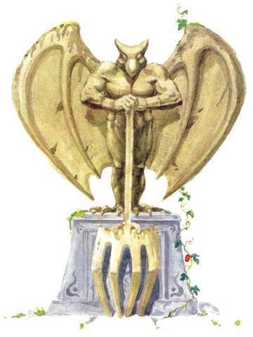 File:Gargoyle Statue.png