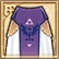 Hyrule Warriors Legends Fairy Clothing Royal Skirt - Purple (Bottom).png