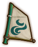 Hyrule Warriors Legends Sail Windfall Sail (Level 1 Sail)