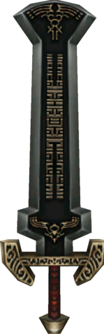 File:Twilight Princess Enemy Weapons Boss Darknut Sword (Tempel of Time Mini-Boss).png