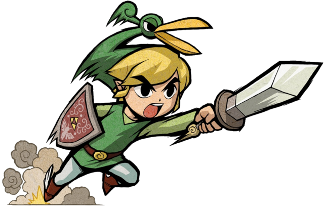 File:Link Stabbing (The Minish Cap).png