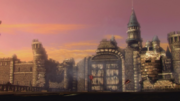 Hyrule Warriors Liberation of the Triforce Hyrule Castle after Ganon's Defeat (Cutscene)