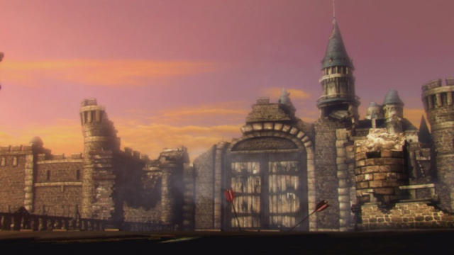 File:Hyrule Warriors Liberation of the Triforce Hyrule Castle after Ganon's Defeat (Cutscene).png