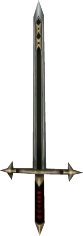 File:Twilight Princess Enemy Weapons Backup Darknut Sword (All Armorless Darknuts).png