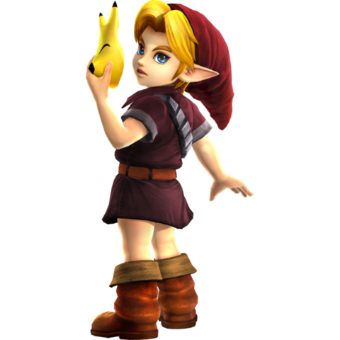 File:Hyrule Warriors Legends Young Link Standard Outfit (Grand Travel - Alfonzo Recolor).png