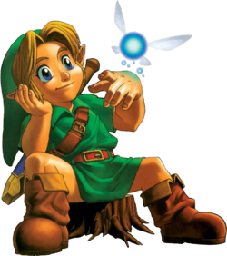 Young Link Artwork 1 (Ocarina of Time)