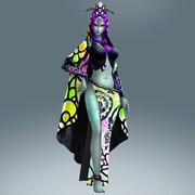 Hyrule Warriors Legends Twili Midna Standard Outfit (Lorule - Fissure Portal)