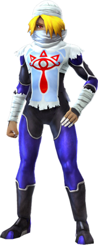 File:Hyrule Warriors Sheik Era of the Hero of Time Outfit (Majora's Mask DLC).png