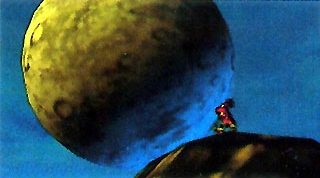 Majora's Mask Beta Moon & Skull Kid (Early Screenshot).png