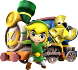 Toon Link Sand Wand (Hyrule Warriors)