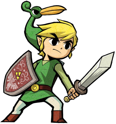 File:Link Artwork 2 (The Minish Cap).png