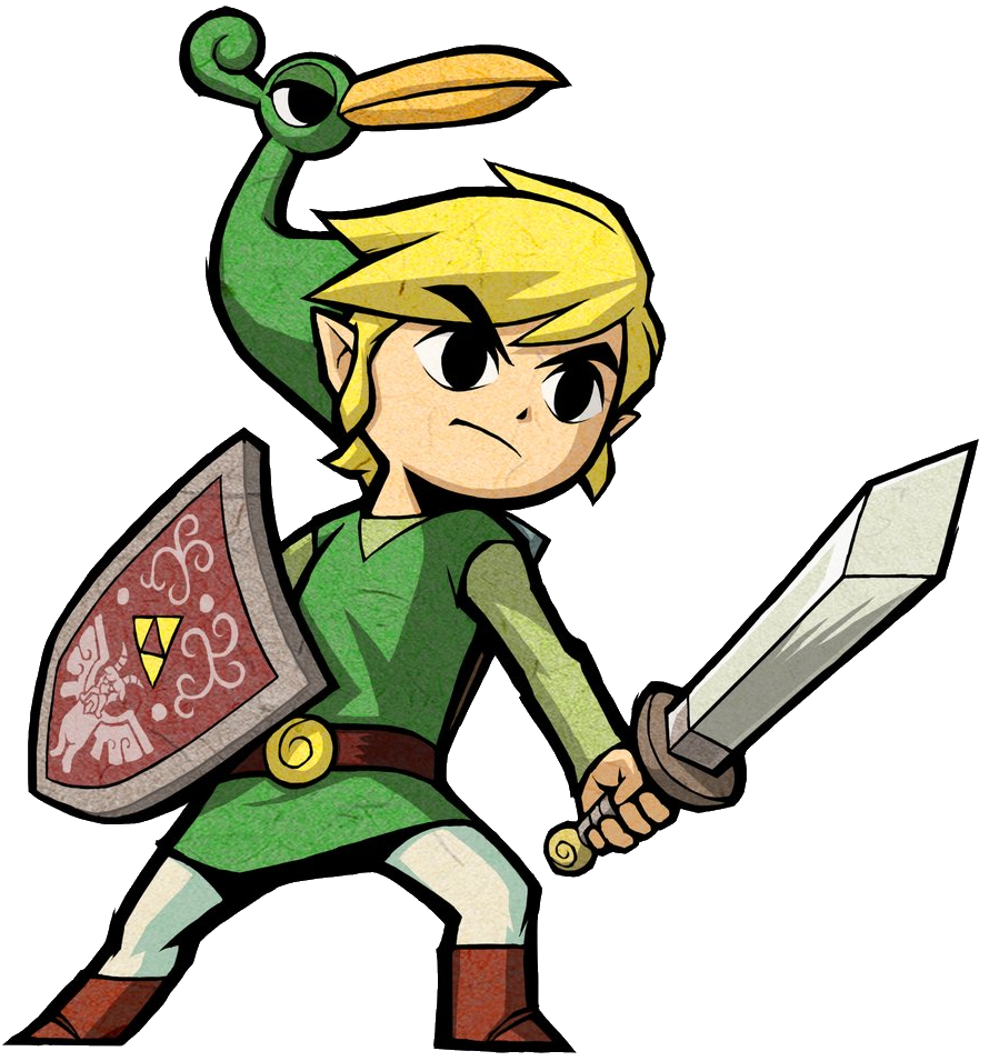 minish cap coloring pages - photo#24