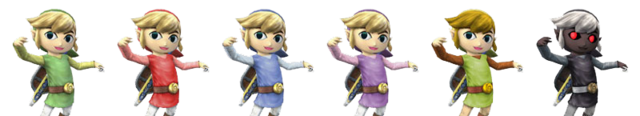 File:Toon Link Palette Swaps.png