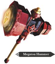 Hyrule Warriors Hammer Megaton Hammer (Render)