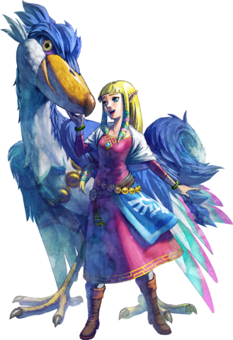 File:Princess Zelda Artwork (Skyward Sword).png