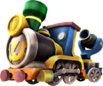 Hyrule Warriors Legends Spirit Train (Render)