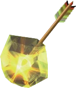 File:Light Arrow (Ocarina of Time and Majora's Mask).png