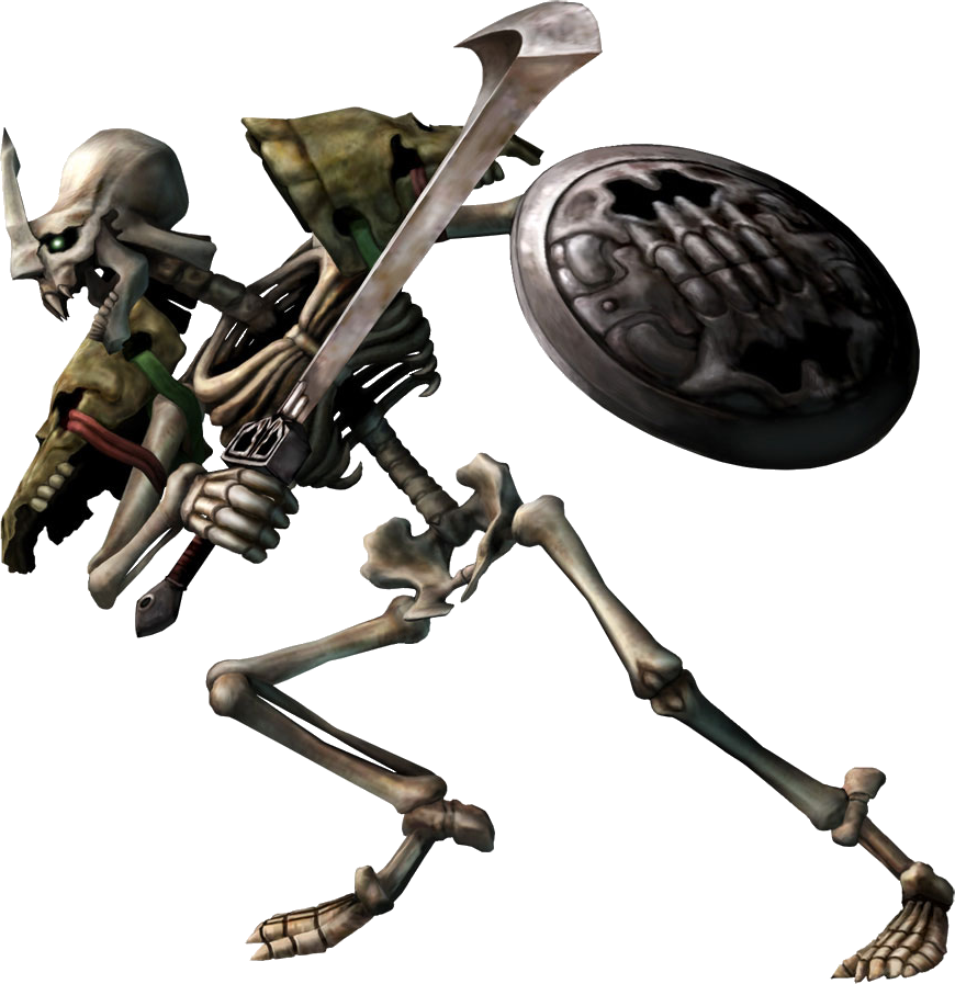 Stalfos Zeldapedia Fandom Powered By Wikia Twilight Princess Skeleton