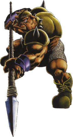 Spear Moblin (Ocarina of Time)
