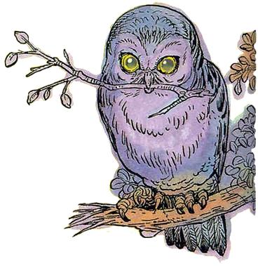 File:Owl Artwork 6 (Link's Awakening).png