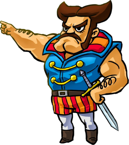 File:Tri Force Heroes Artwork Sir Combsly (Official Artwork).png