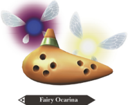 Hyrule Warriors Legends Ocarina Fairy Ocarina (Render)