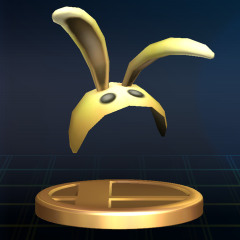 File:Bunny Hood Trophy (Super Smash Bros. Brawl).png