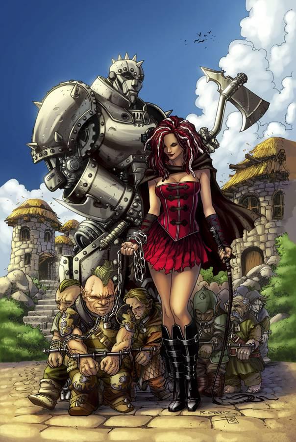 Grimm Fairy Tales Presents Warlord of Oz Vol 1 2