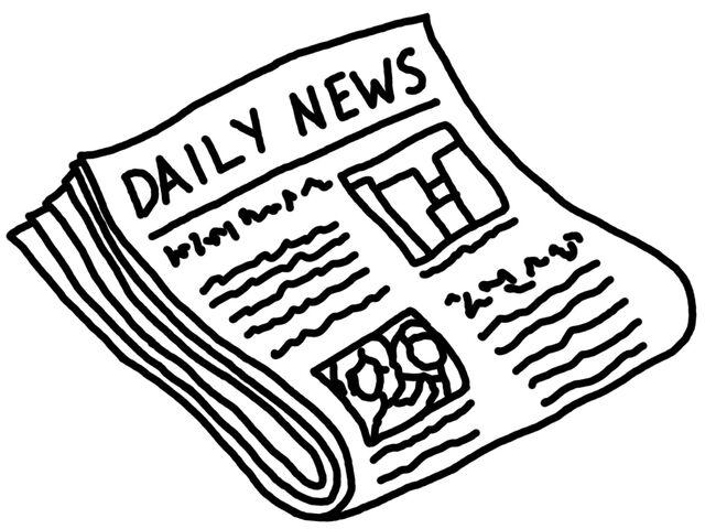 File:Newspaper bw.jpg