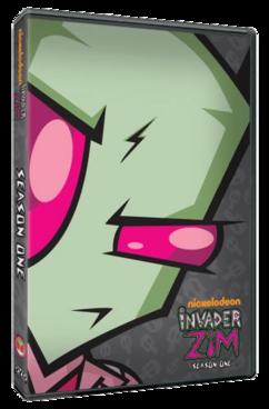 Invader Zim season 1 dvd