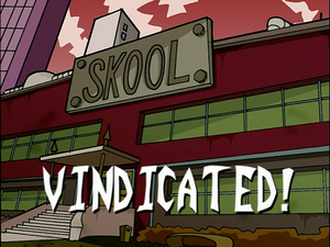 Vindicated (Title Card)