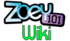 Zoey 101 Wiki wordmark crop