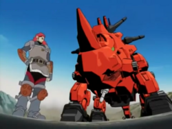 Anime-Rosso and Red Horn