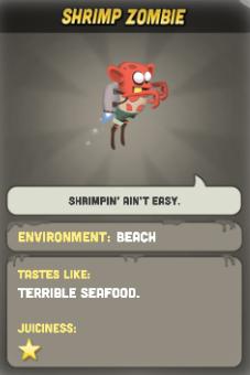 Shrimp Zombie Zombie Catchers Wiki Fandom Powered By Wikia