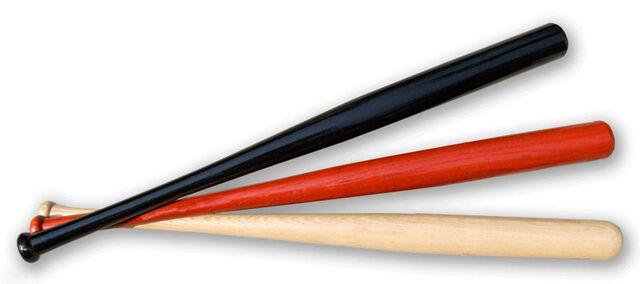 File:Wooden Baseball Bats.jpg