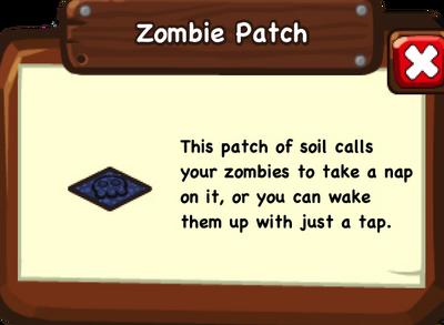 Zpatch info